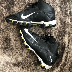 Worn Nike Alpha Cleats